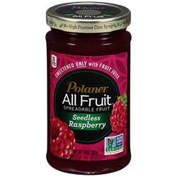 Polaner All Fruit Spread, Seedless Raspberry