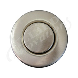 AIR BUTTON TRIM: #15 CLASSIC TOUCH, BRUSHED STAINLESS