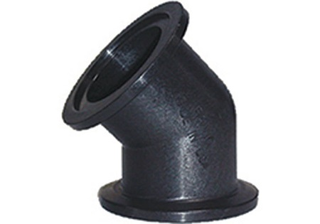 Banjo Poly Flanged Couplers - 45 Degree