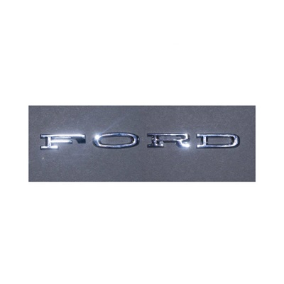 1964-66 FORD Hood Letters (Stick-On)