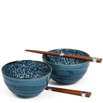 "Kyo Karakusa 5"" Bowl Set"