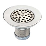 152LT: Wide Top Sink Strainer Less Tailpiece