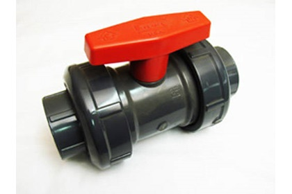 "1 - 1/2"" PVC True-Union Ball Valve"