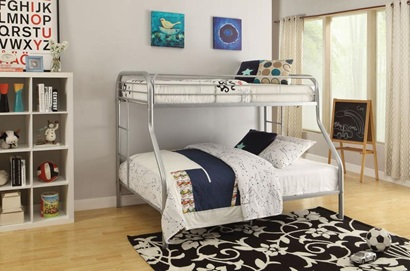 02053SI SILVER T/F BUNKBED