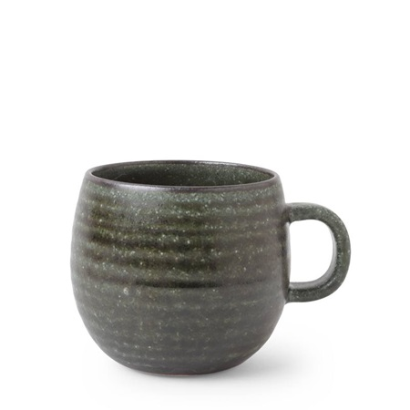 Mug 8oz. La Terre Forest Green