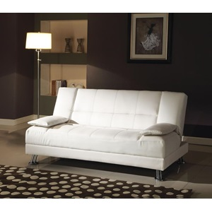 57079 WHITE ADJUSTABLE SOFA