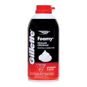 Gillette Foamy Shaving Cream, Regular