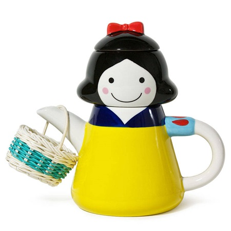 Snow White Tea Set