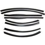 Convertible Roof Rail Weatherstrip