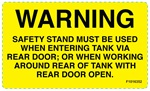 DECAL-WARNING ENTER TANK
