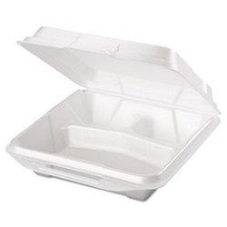 3 COMPARTMENT CARRY OUT TRAY