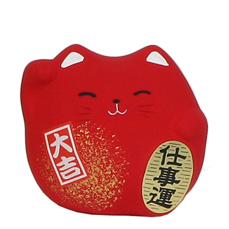"FENG SHUI CAT 2.25"" - RED"