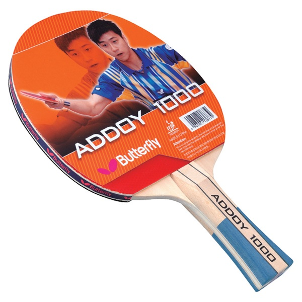 Butterfly Table Tennis - Addoy 1000 Pre-Assembled Racket