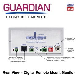Rear view - Digital Direct Remote Monitor