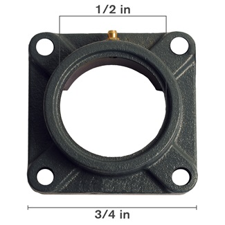 4 Bolt Flange Housing