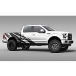 Warlord Truck Graphics (satin black)