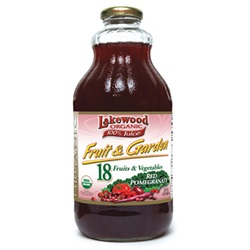 Fruit Garden Red Pomegranate (Lakewood), Organic - 32oz (Case of 12)