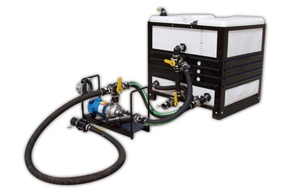 300 Gallon Mobile Brine Maker 110v