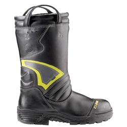 "Globe Supreme™ 14"" Leather Pull-On Structural Fire Boot"