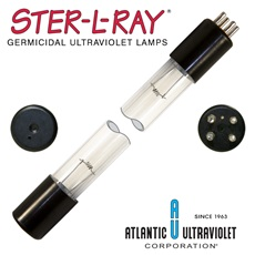 Replacement UV Lamp 8 Watt for Aqua Ultraviolet A20008