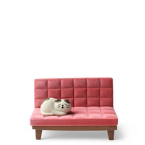 Phone Stand Cat on Sofa Pink