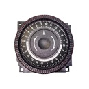 TIME CLOCK: 220V, SPDT, 24 HOUR, 4 LUG