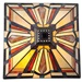 "23.5""H Stained Glass Mission Table Lamp"