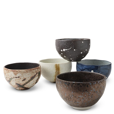 "Hinata 4.75"" Bowl Set Of 5"