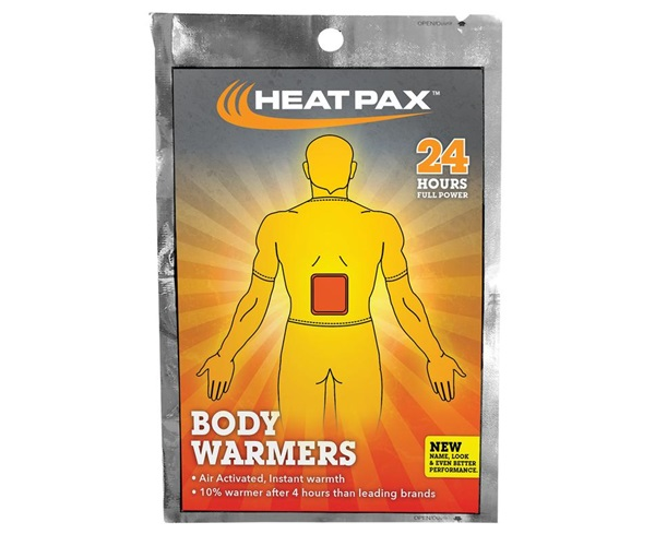 Heat Pax® Body Warmer 5-Pack