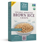 Sprouted Brown Rice Crisps, OG - 8oz