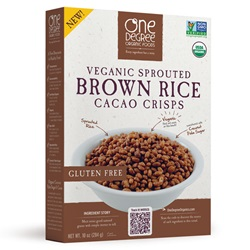 Brown Rice Cacao Crisps, OG - 10oz