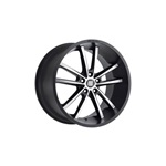 Shelby CS2 20x11 - Black w/Machined Face