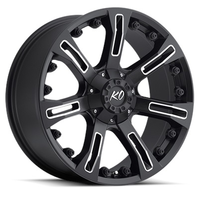 ANACONDA 20X9 MILLED BLACK