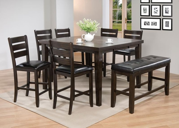 Strange Acme Furniture 74630 Espresso Counter H Table Home Remodeling Inspirations Genioncuboardxyz
