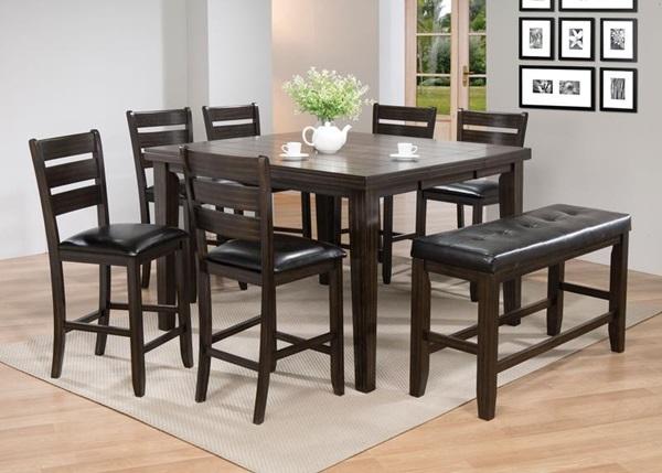 Superb Acme Furniture 74630 Espresso Counter H Table Download Free Architecture Designs Crovemadebymaigaardcom