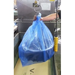 "54 X 44 X 96"" 4 MIL BLUE VCI POLY BAG, 20/RL"