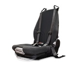 Velour Actimo Seat with 4-Point Harness