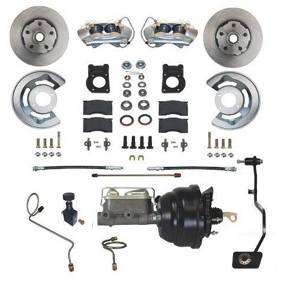1970 Disc Brake Conversion Kit with Manual Transmissions