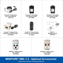 MINIPURE® MIN-1.5 Optional Accessories