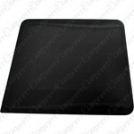 Black Square Corner Hard Card