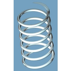 "Compression Spring, .50"" Long, Stainless"