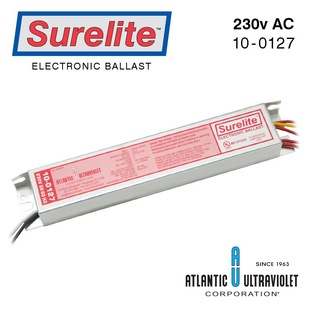 Surelite Ballast 10 0127 Buyultraviolet Wiring Up Fluorescent Eb Mt1 2 128 5 6 0 230v 50 60hz Incl Diagr
