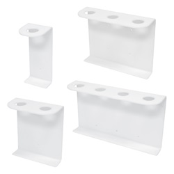 32oz Boston Rd Dispenser Brackets, White