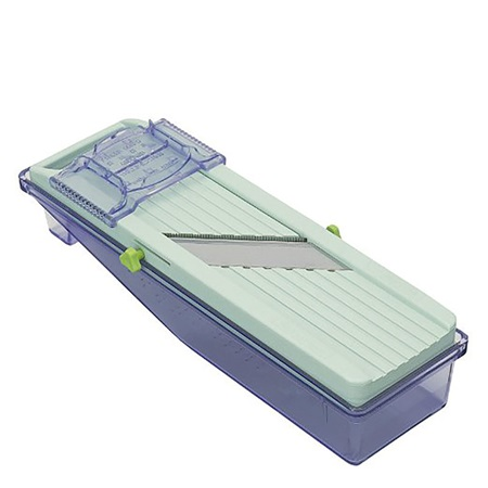 BENLINER MANDOLINE VEGETABLE SLICER AND CATCH TRAY SET