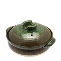 Donabe Casserole Earth Green 8-Go