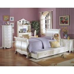 01010T KIT-TWIN SLEIGH BED-HB/FB/R