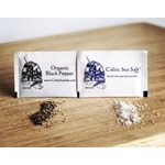 Celtic Sea Salt ® Brand - Fine Ground & Organic Pepper 'To Go' Packets