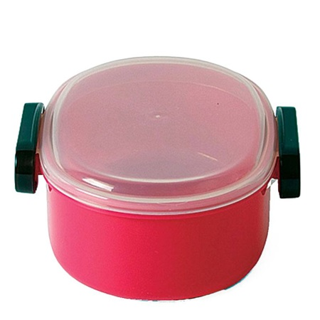 Snack Bento Box - Dark Pink