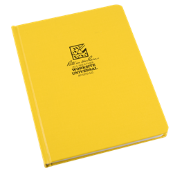 LARGE HARD COVER WORKSITE BOOK