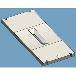 Arc Chamber Top Plate, Molybdenum Version